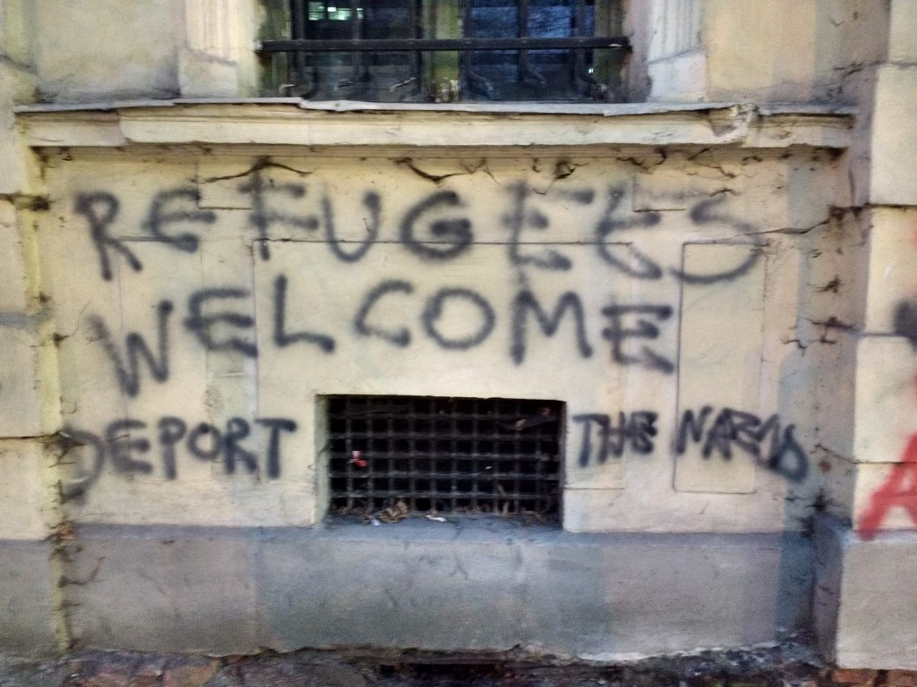 Refugees welcome, deport the...?