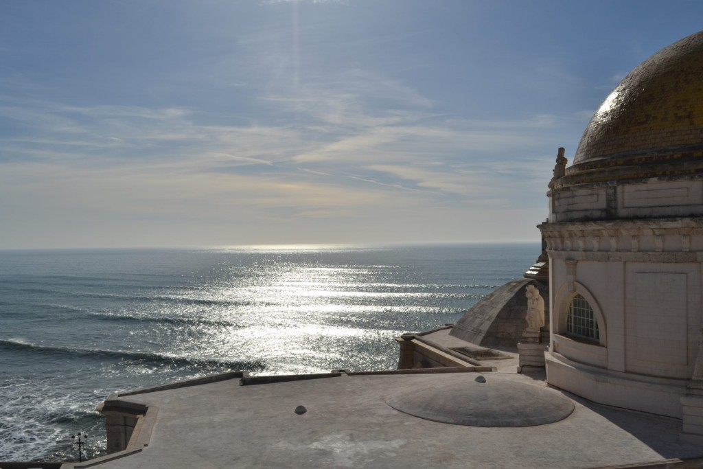 Overlooking the Atlantic Ocean from the top of the Cádiz Cathedral