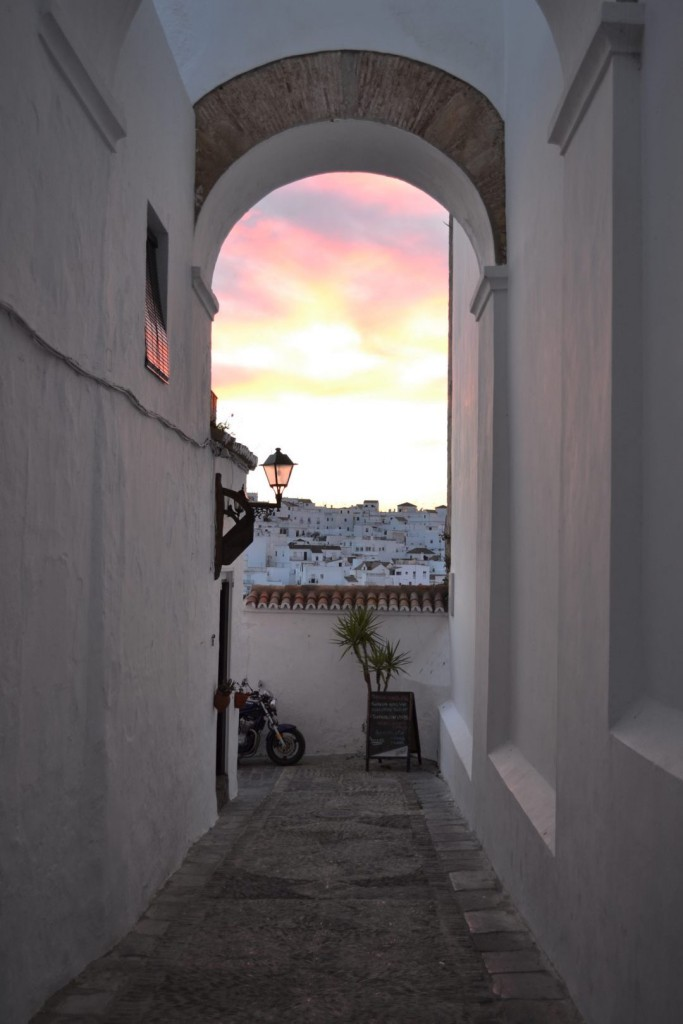 Sunset in Vejer de la Frontera, Spain