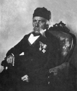 Vuk Karadžić, around 1850