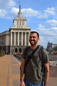 Alan in Sofia, Bulgaria